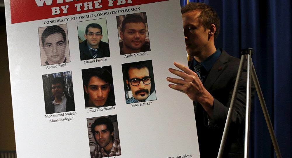 قراصنة إيرانيون مطلوبون لوزارة العدل الأمريكية