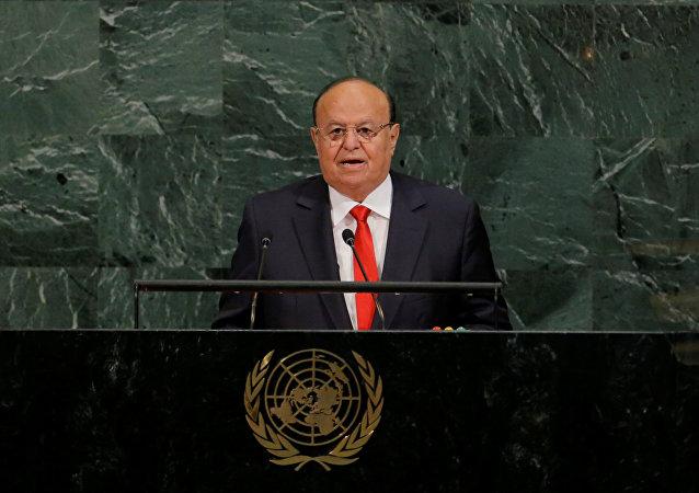 الرئيس اليمني عبد ربه منصور هادي