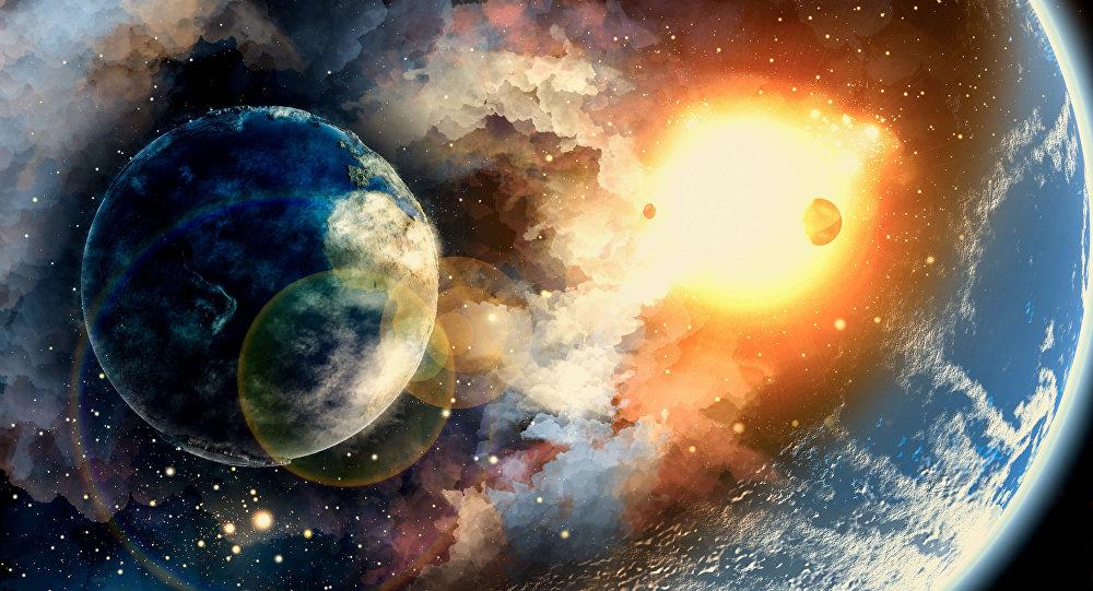 الكواكب في الفضاء