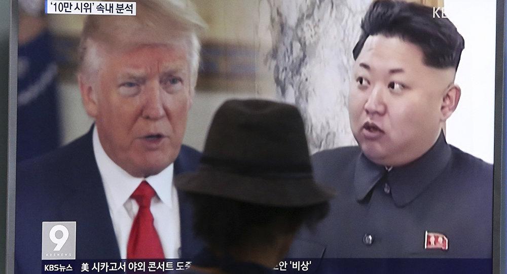 ترامب يتوعد بمسح كوريا الشمالية من خارطة العالم