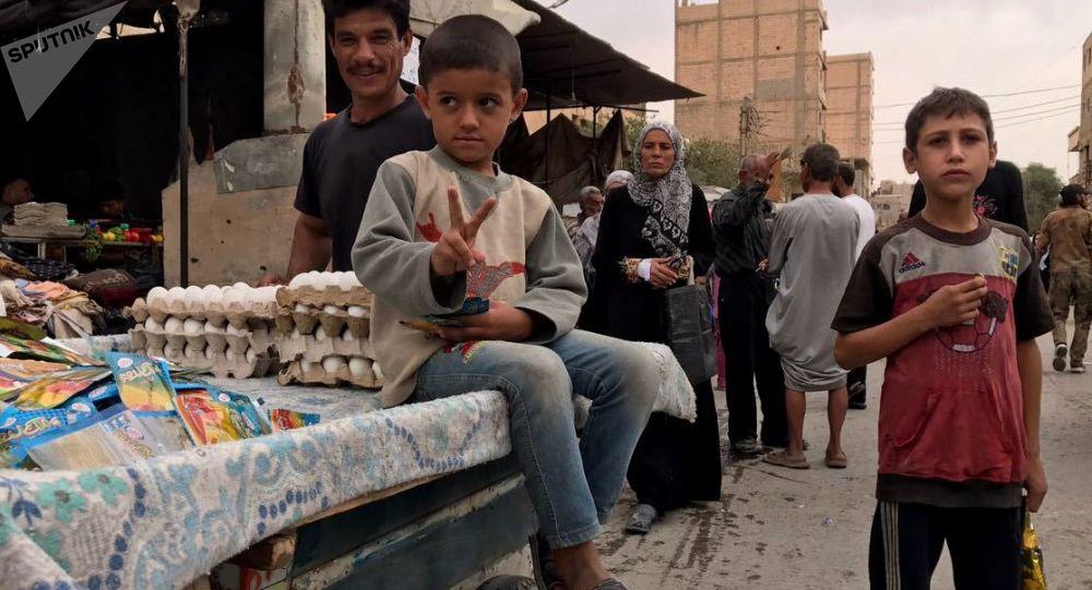 الحياة السلمية في دير الزور، سوريا