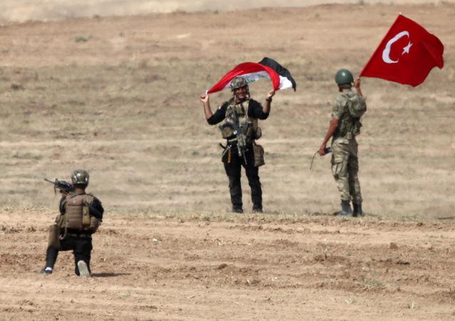 المناورات التركية العراقية في جنوب شرق تركيا، قرب الحدود مع العراق، 26 سبتمبر/ أيلول 2017