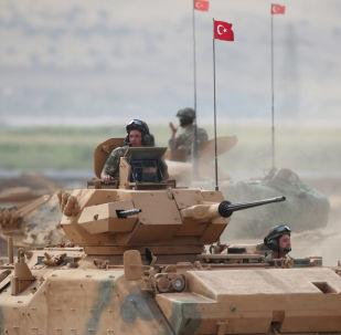 القوات التركية في جنوب شرق تركيا