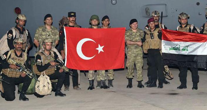 المناورات التركية العراقية في جنوب شرق تركيا، قرب الحدود مع العراق، 25 سبتمبر/ أيلول 2017
