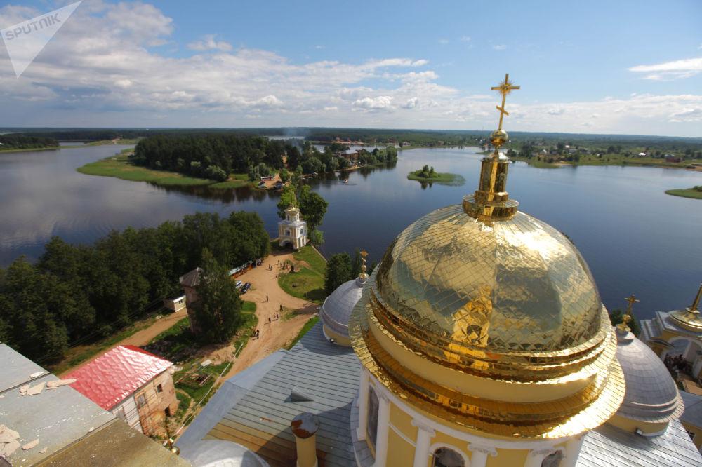 منقطة صحاري نيلو-ستولوبنسكايا في بحيرة سيليجر، روسيا