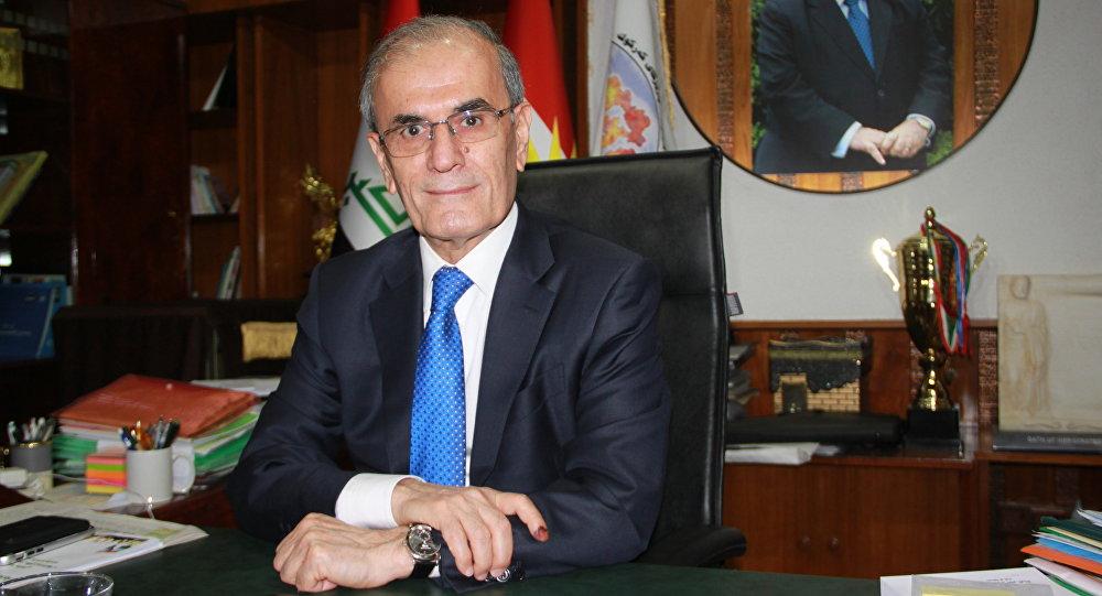 محافظ إقليم كركوك نجم الدين كريم