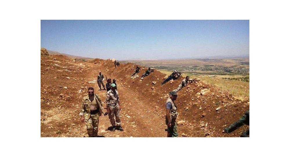 الجيش السوري يتابع عملياته لوصل الريف الجنوبي