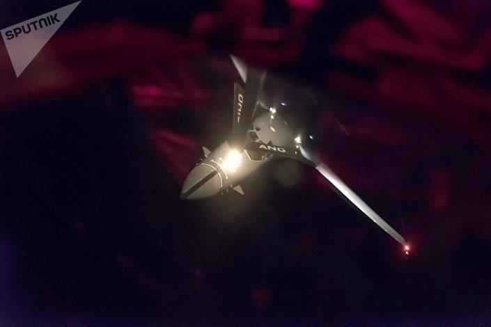 قاذفة القنابل B-1B Lancer