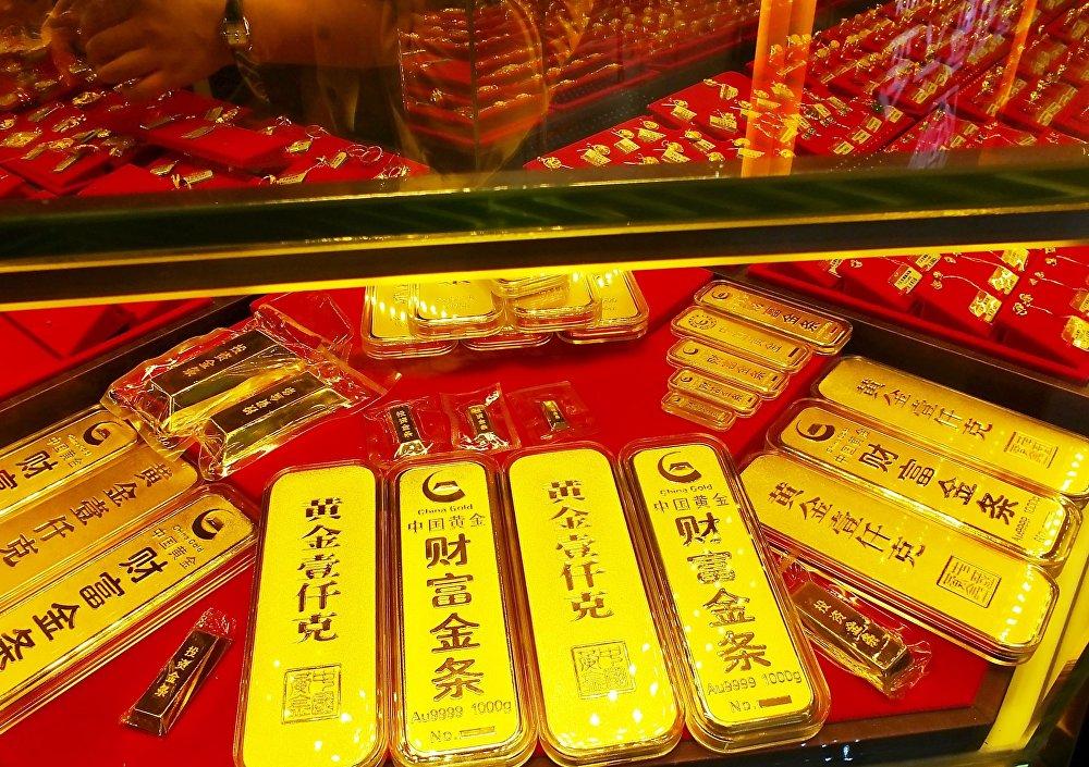 سبائك ذهبية في الصين