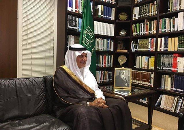 رئيس جهاز المخابرات السعودية السابق الأمير تركي الفيصل