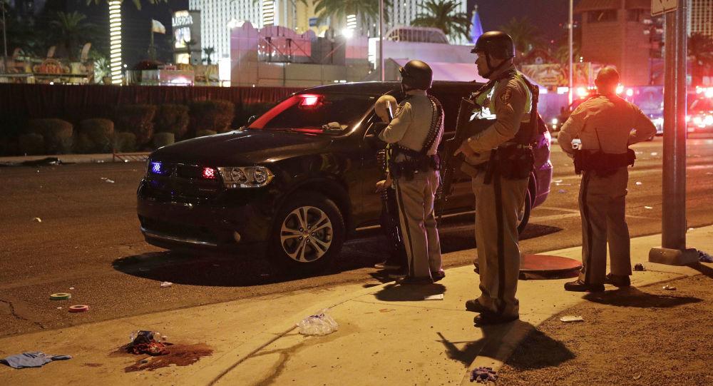 حادثة اطلاق نار في لاس فيغاس، الولايات المتحدة 2 أكتوبر/ تشرين الأول 2017