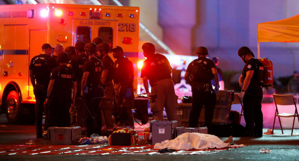 حادثة اطلاق نار في لاس فيغاس، الولايات المتحدة 1 أكتوبر/ تشرين الأول 2017
