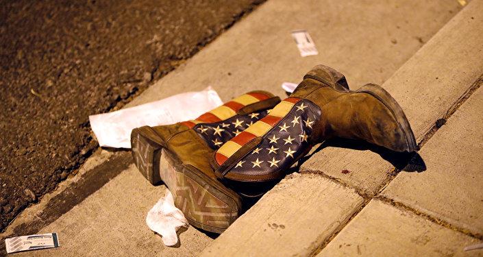 آثار هجوم لاس فيغاس