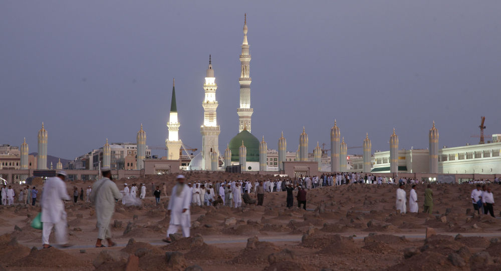 المسجد النبوي في المدينة، السعودية 5 يوليو/ تموز 2013