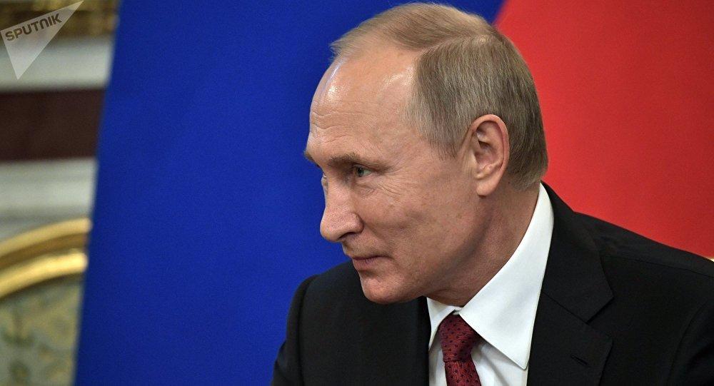 محادثات الرئيس الروسي فلاديمير بوتين ,العاهل السعودي الملك سلمان بن عبد العزيز آل سعود في قصر الكرملين، موسكو، روسيا