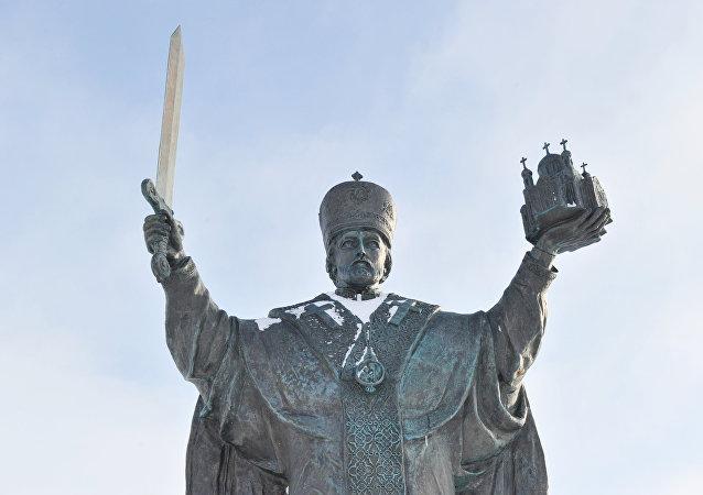 تمثال القديس نيقولاوس