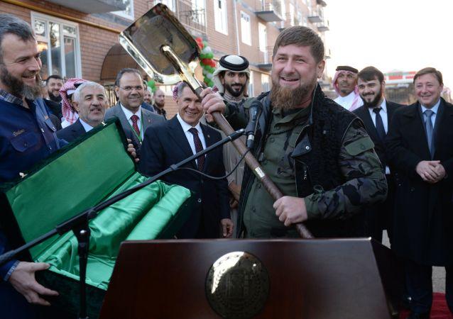 رئيس جمهورية الشيشان رمضان قاديروف - زيارة ملك البحرين إلى الشيشان