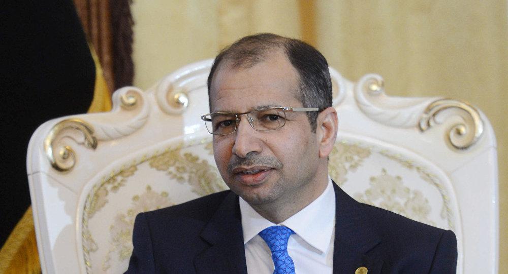 رئيس البرلمان العراقي سليم الجبوري