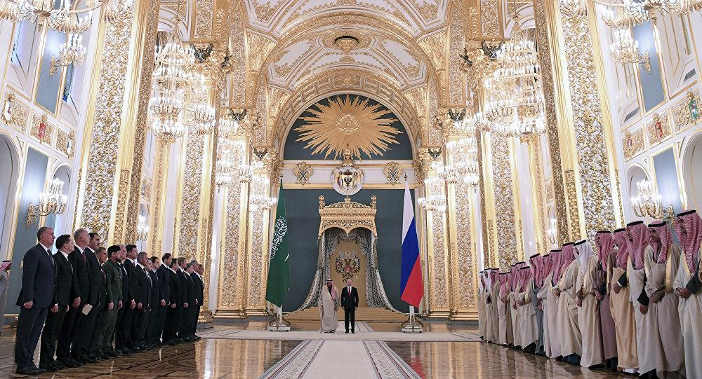 زيارة العاهل السعودي الملك سلمان بن عبد العزيز آل سعود إلى قصر الكرملين، موسكو، روسيا
