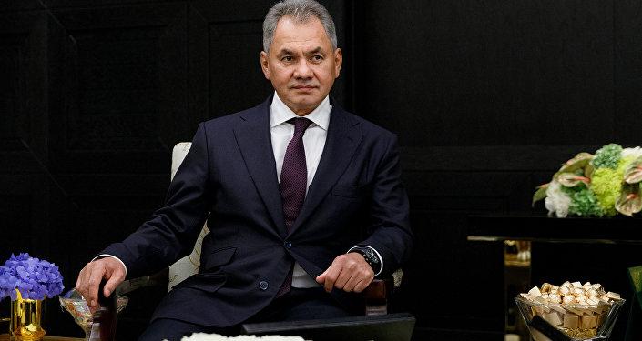 وزير الدفاع الروسي سيرغي شويغو، موسكو، روسيا