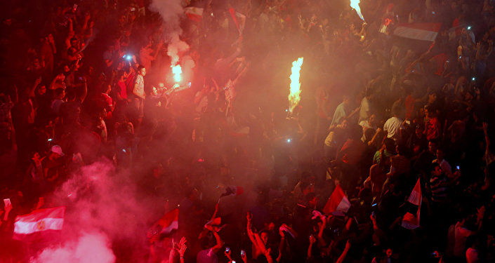 المنتخب المصري يتأهل لكأس العالم 2018