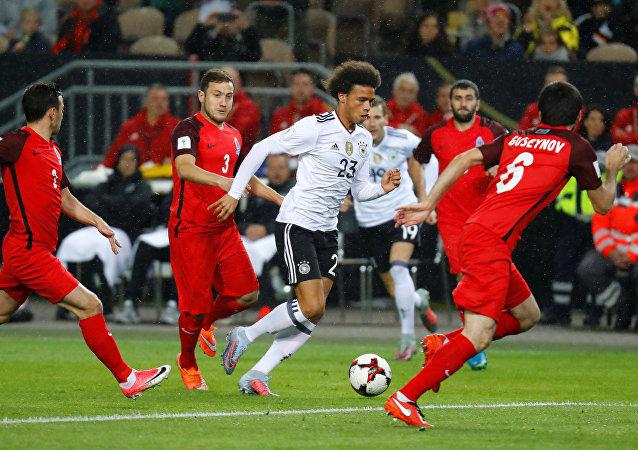 مبارة المنتخب الألماني ومنتخب أذربيجان
