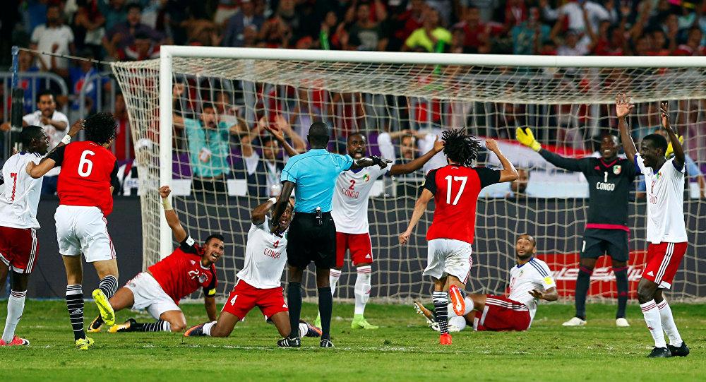 مبارة المنتخب المصري أمام نظيريه منتخب الكونغو