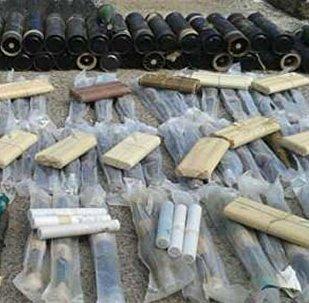 أسلحة إسرائيلية وأمريكية الصنع في سوريا