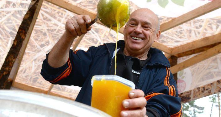 مهرجان حصاد المحالصيل في خاباروفسك، روسيا