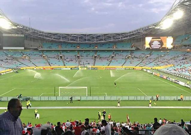 مطالبات بإعادة مباراة سوريا وأستراليا لوجود أخطاء