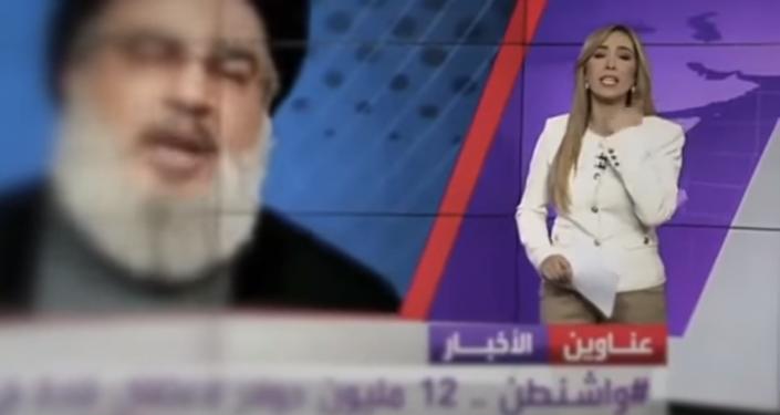 موقف محرج لمذيعة قناة العربية