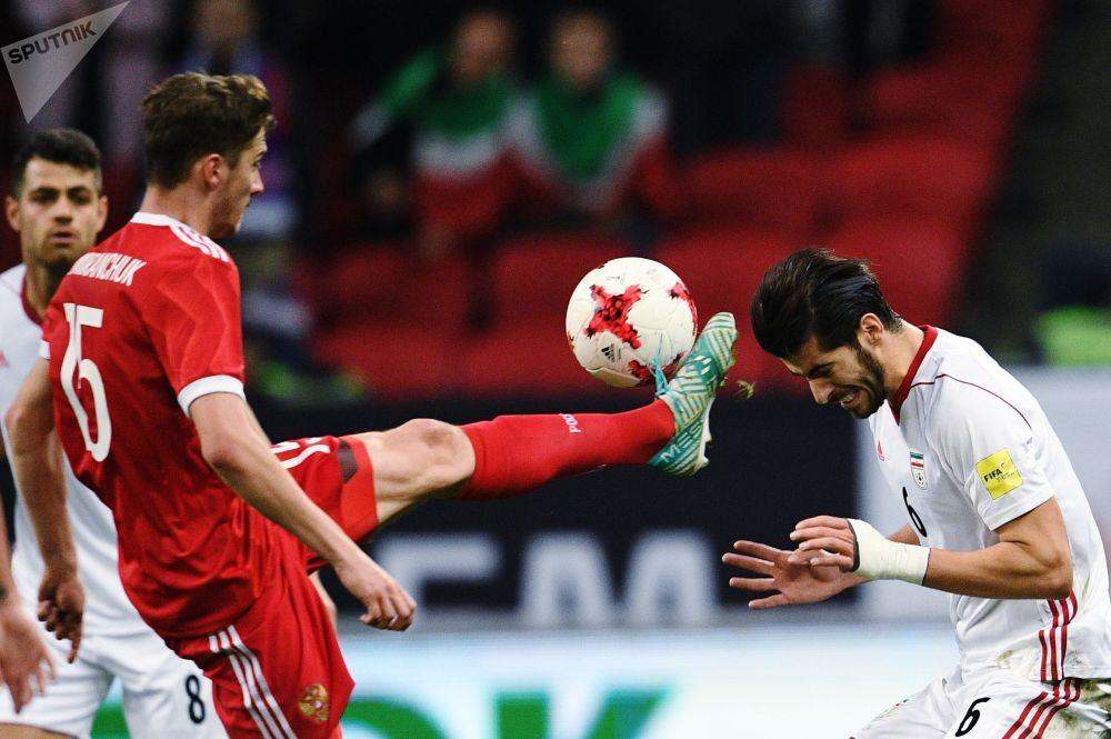 مباراة ودية بين روسيا وإيران