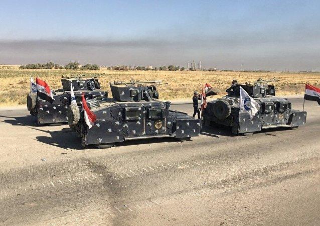 القوات العراقية في كركوك