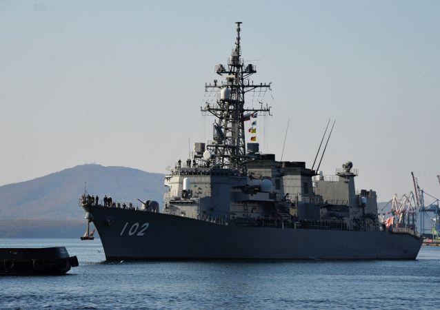 وصول سفن البحرية اليابانية كاسيما إلى فلاديفوستوك، روسيا 14 أكتوبر/ تشرين الأول 2017