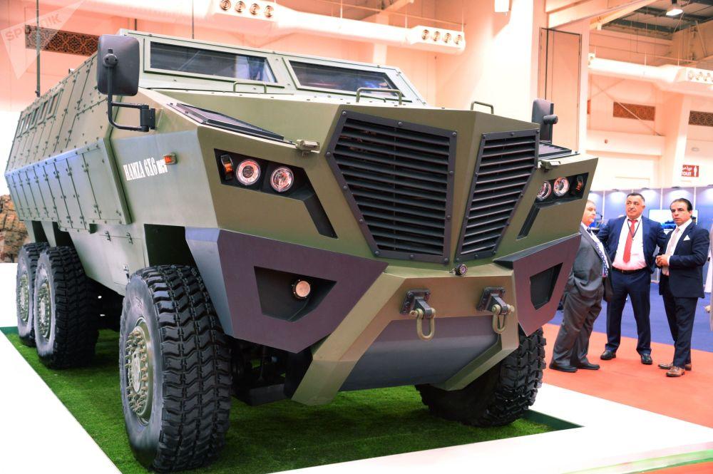المعرض العسكري الدولي في البحرين (BIDEC-2017) - المدرعة HAMZA 6x6