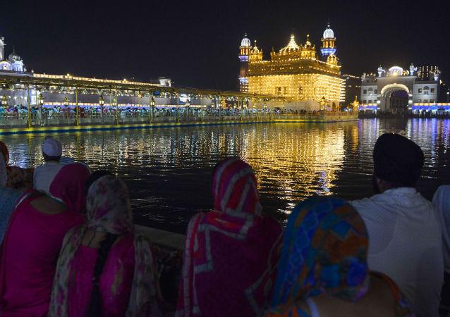 الاحتفالات بمهرجان ديوالي في الهند، 18 أكتوبر/ تشرين الأول 2017