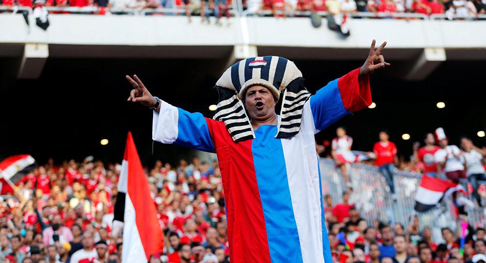 مشجع مصري بعد تأهل الفراعنة إلى مونديال روسيا 2018
