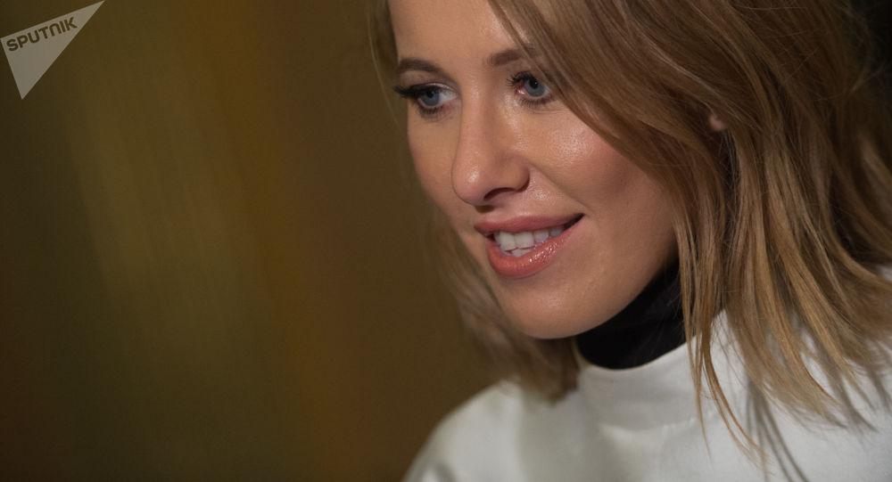 الصحفية الروسية، المحسوبة على التيار الليبرالي، كسينيا سوبتشاك، المرشحة لانتخابات الرئاسة الروسية لعام 2018