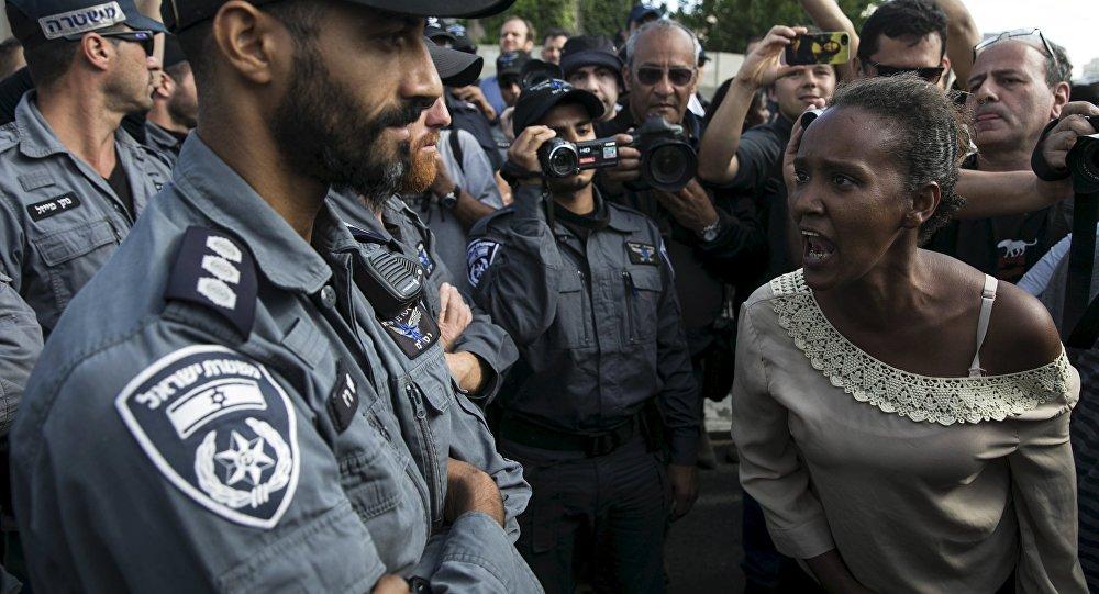 اشتباكات بين إثيوبيين والشرطة في إسرائيل