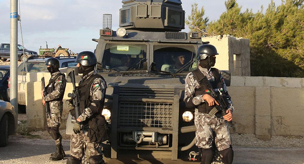 قوات الأمن في الأردن