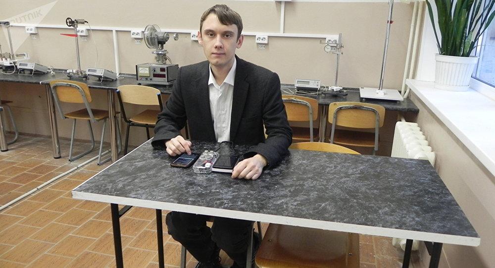 الطالب ديمتري سيفاستيانوف