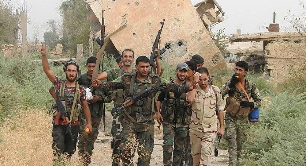 الجيش السوري تغلب على الطبيعة في معركة حويجة الصقر