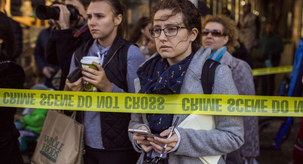 هجوم مانهاتن، نيويورك، الولايات المتحدة الأمريكية 31 أكتوبر/ تشرين الأول 2017