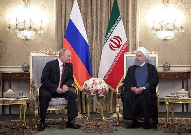 زيارة عمل الرئيس الروسي إلى طهران، 1 نوفمبر 2017