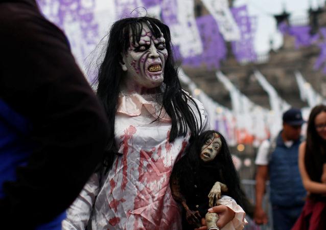 الاحتفال بالـ هالوين في مكسيكو، المكسيك