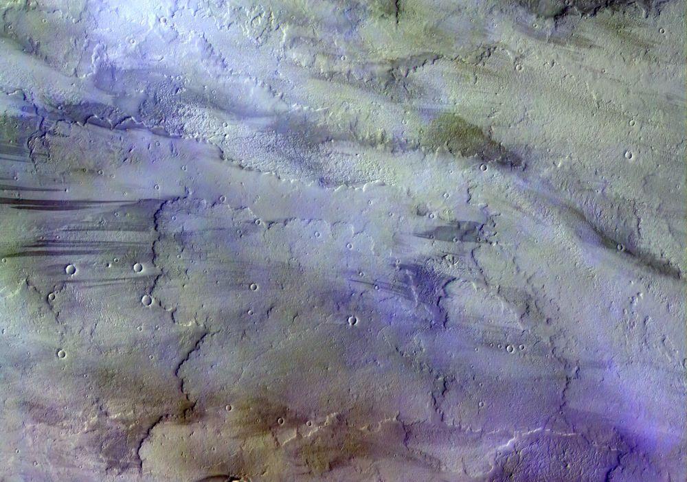 صورة لغيوم كوكب المريخ التي حصل عليها جهاز TGO