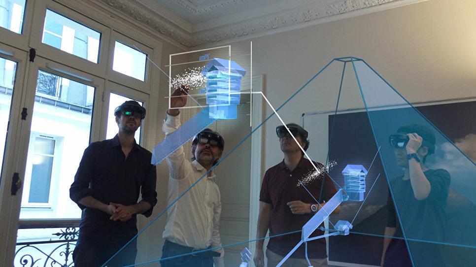 نموذج ثلاثي الأبعاد للهرم الأكبر