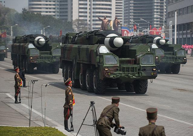 صواريخ كوريا الشمالية البالستية