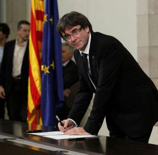 رئيس إقليم كتالونيا السابق بوتشدمون