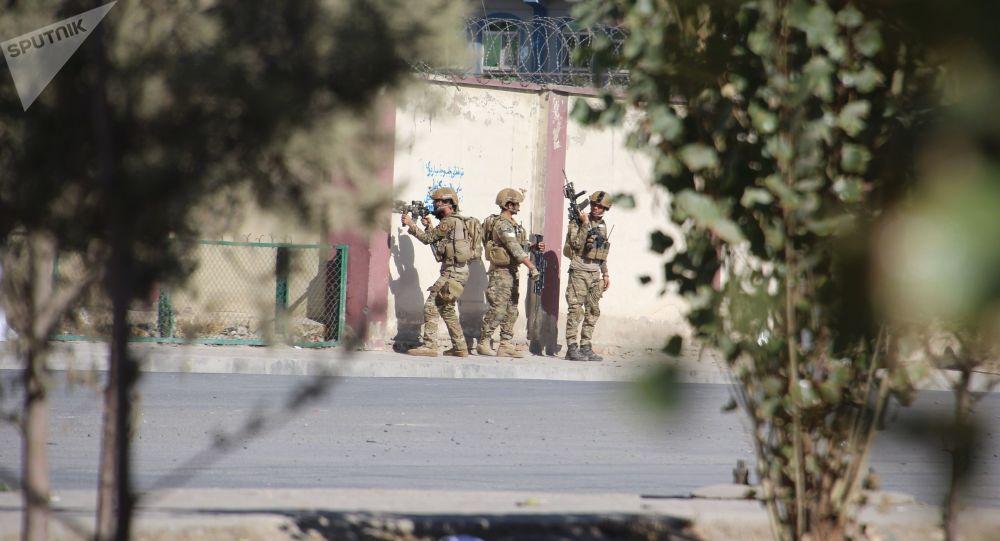 الوضع في كابول بعد الانفجار في البرج التلفزيوني Shamshad  ، أفغانستان